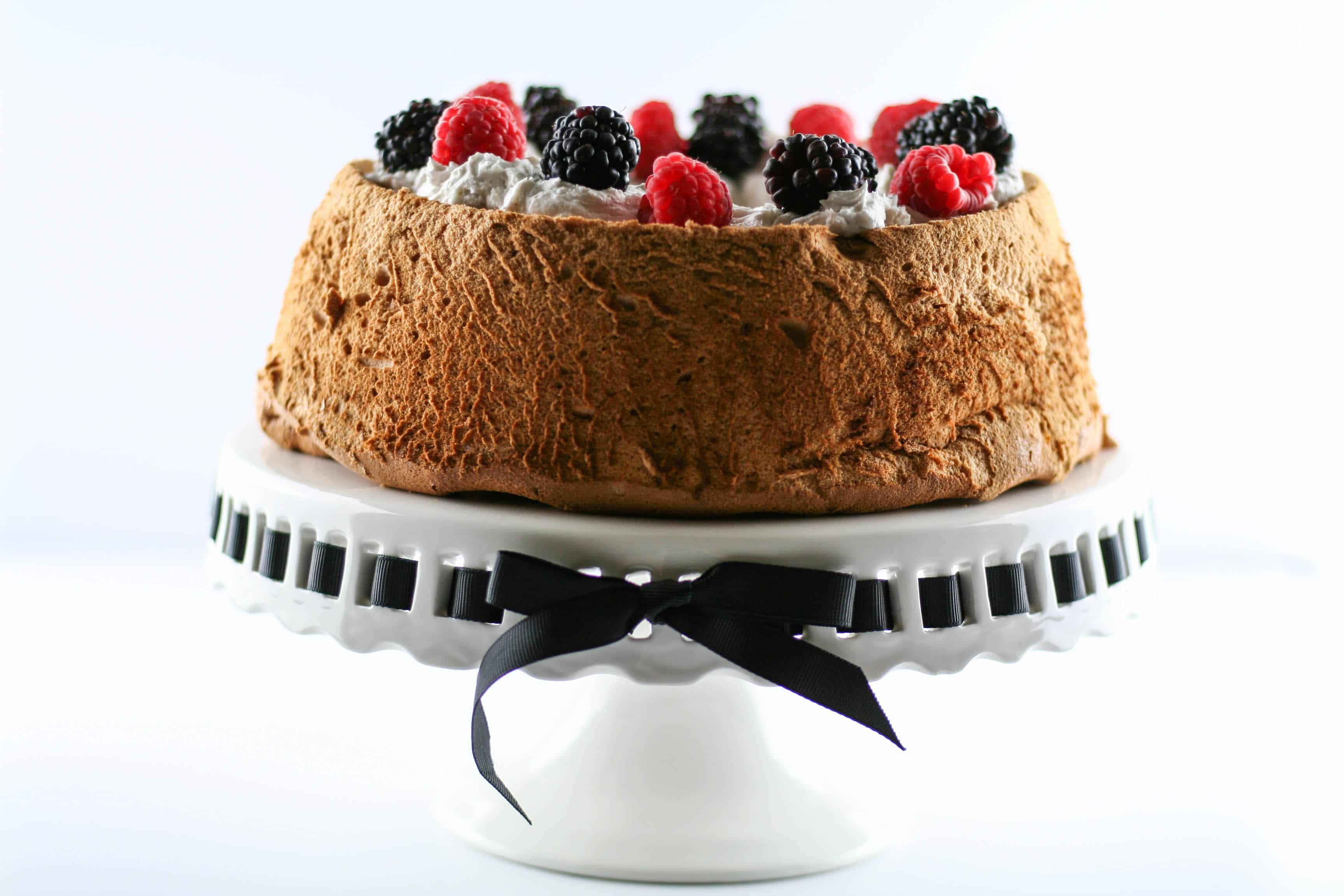 Nut-Free Grain-Free Paleo Angel Food Cake