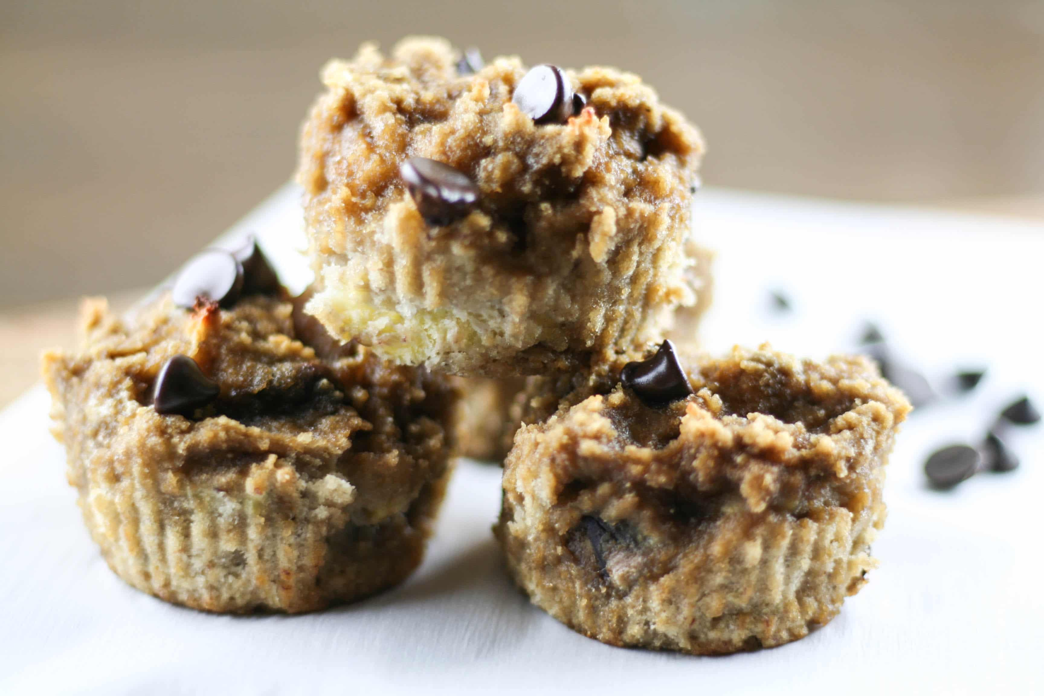 nut-free Paleo banana bread muffin