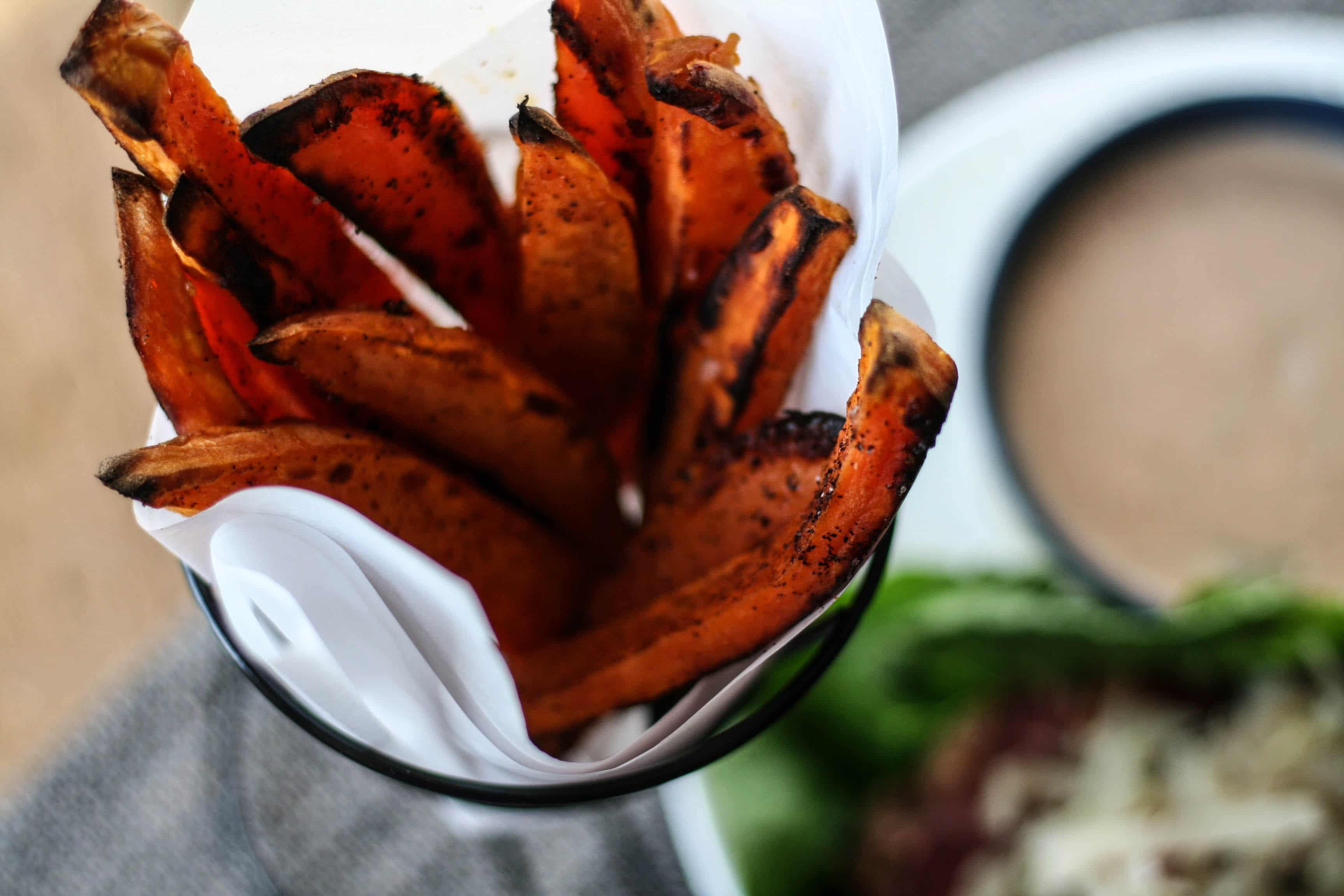 Spicy Sweet Potato Fries
