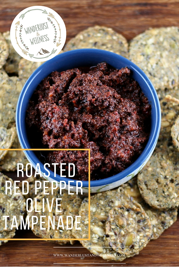 roasted red pepper olive tapenade