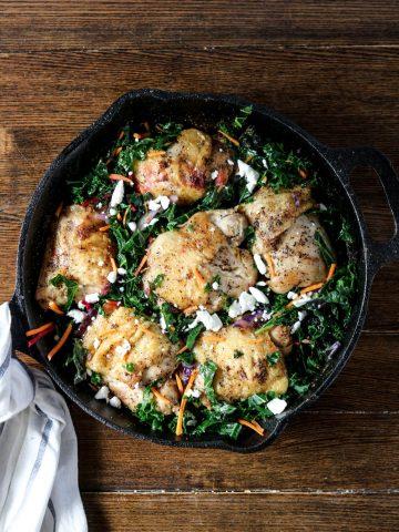 cracklin-chicken-braised-greens