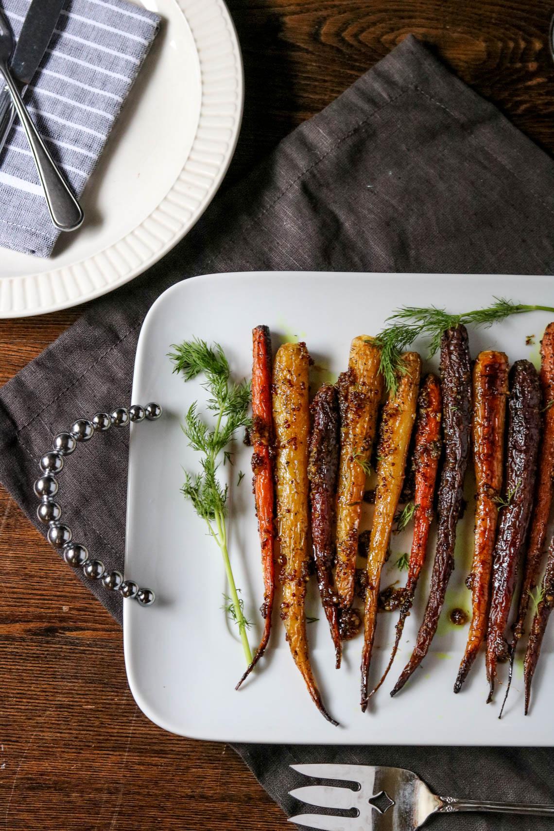 maple-mustard-roasted-carrots