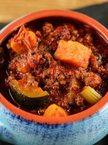 Paleo Spicy Chili