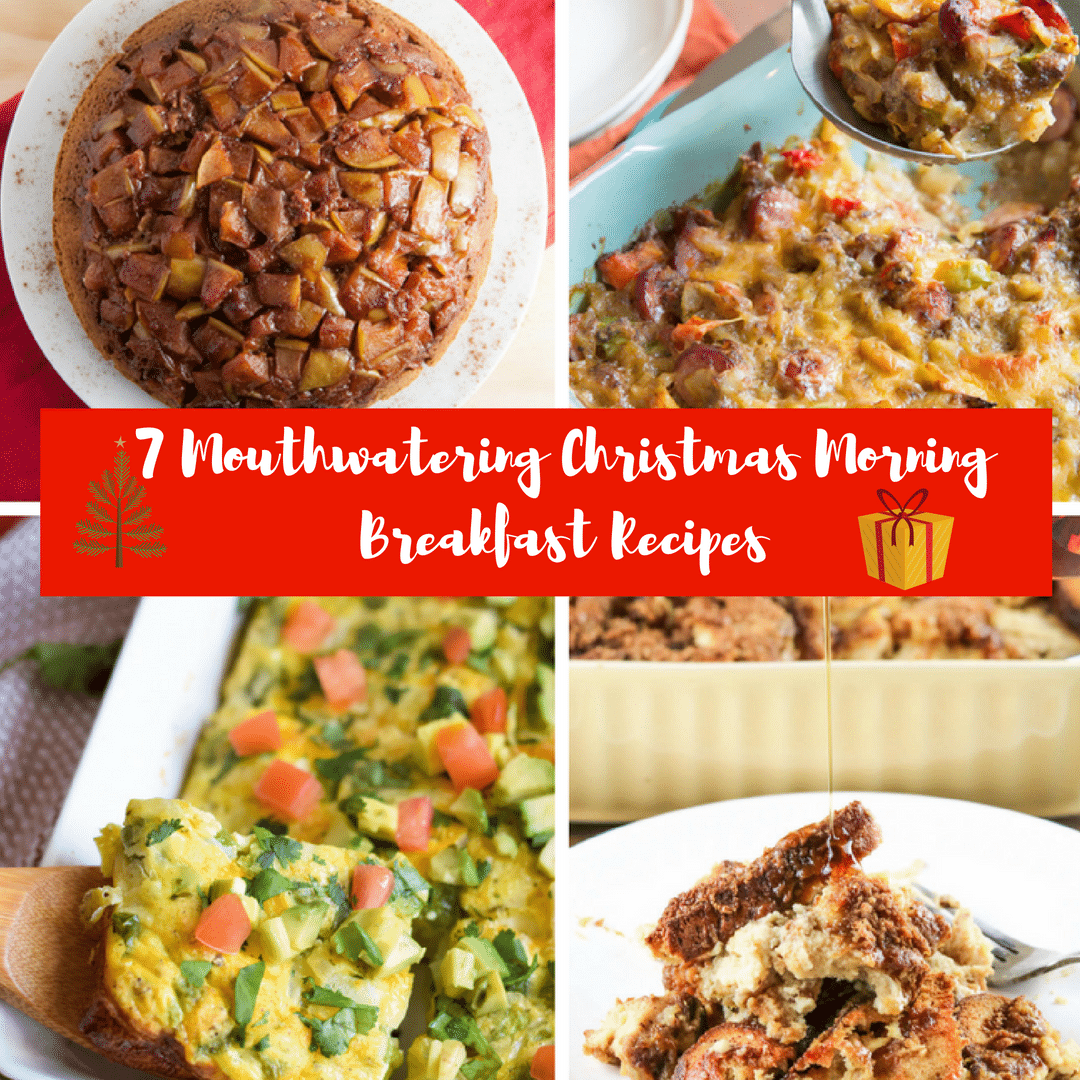7 Mouthwatering Christmas Breakfast Recipes