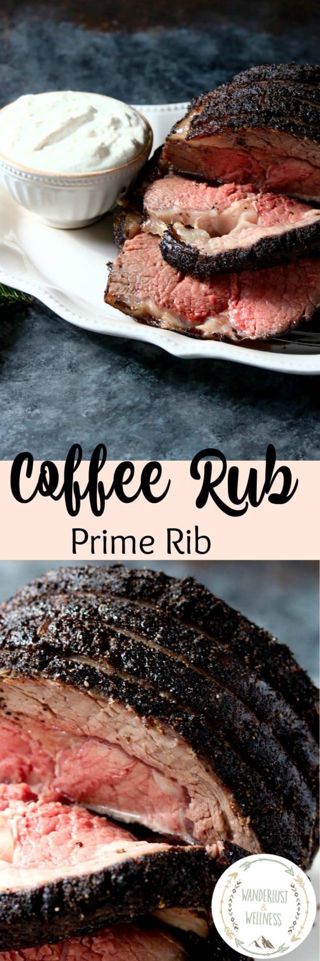 Coffee Rub Prime Rib