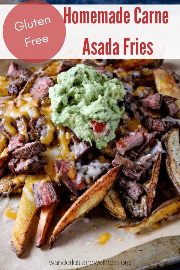 Homemade Carne Asada Fries