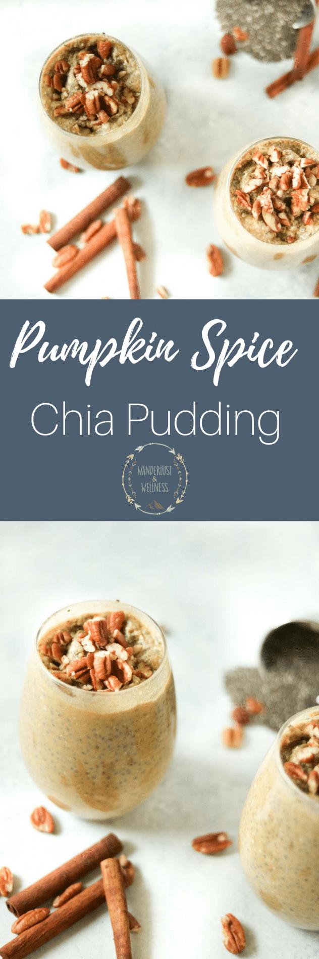 pumpkin spice chia pudding