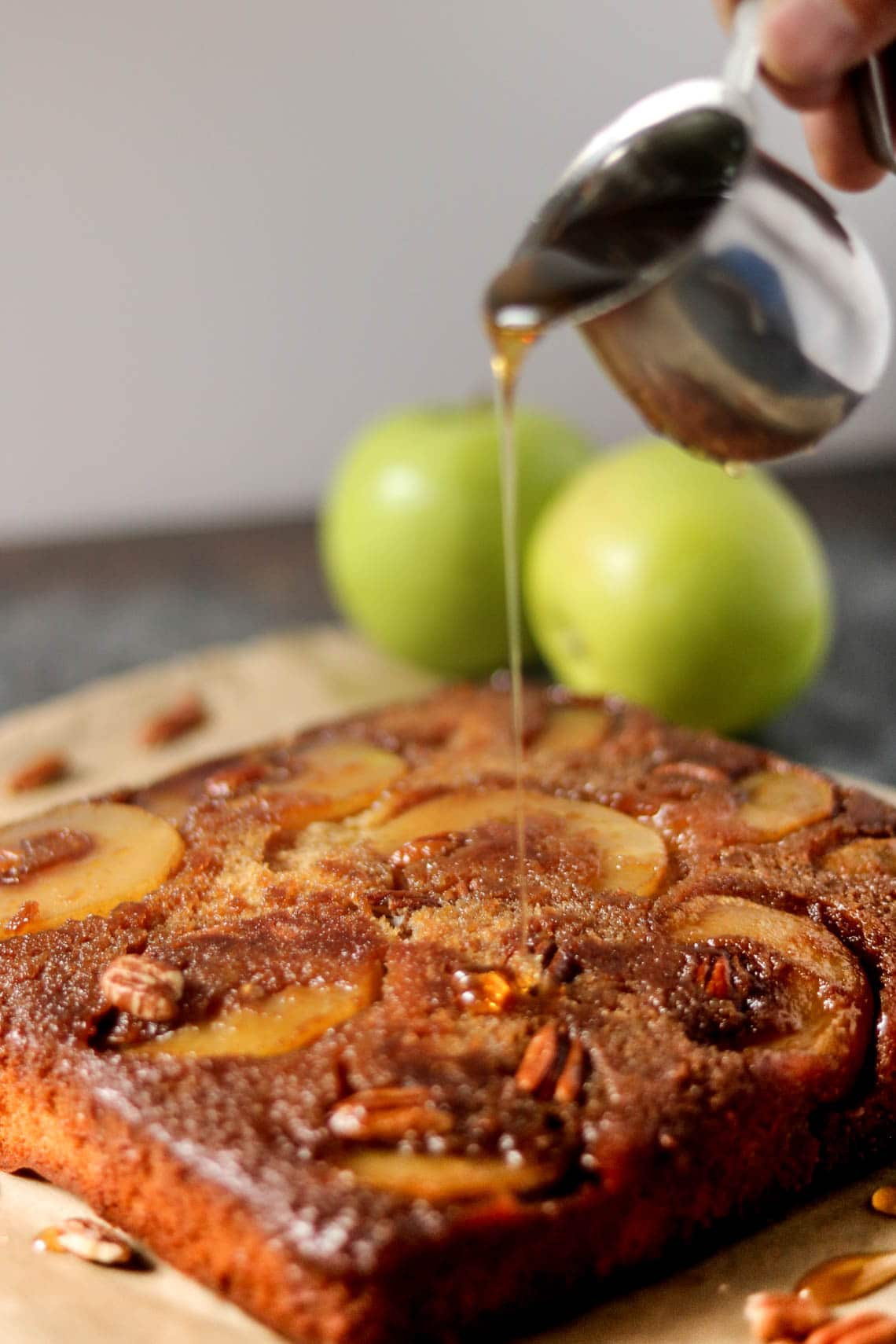 Upside Down Apple Cake