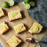 gluten-free key lime bars