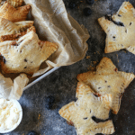 Blueberry Lemon Marscapone Hand Pies
