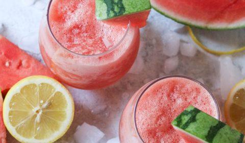 Watermelon Wine Slush