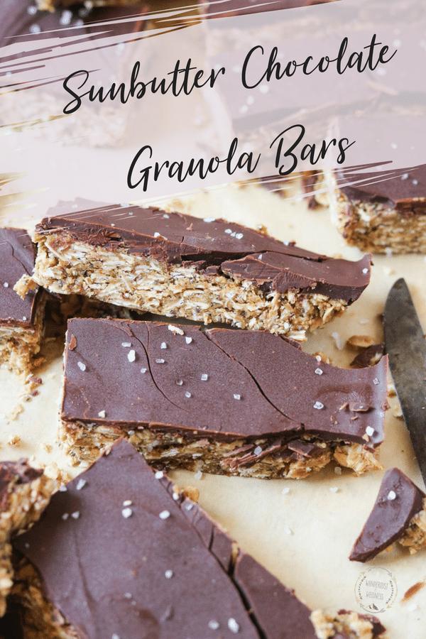 Sunbutter Chocolate Granola Bar