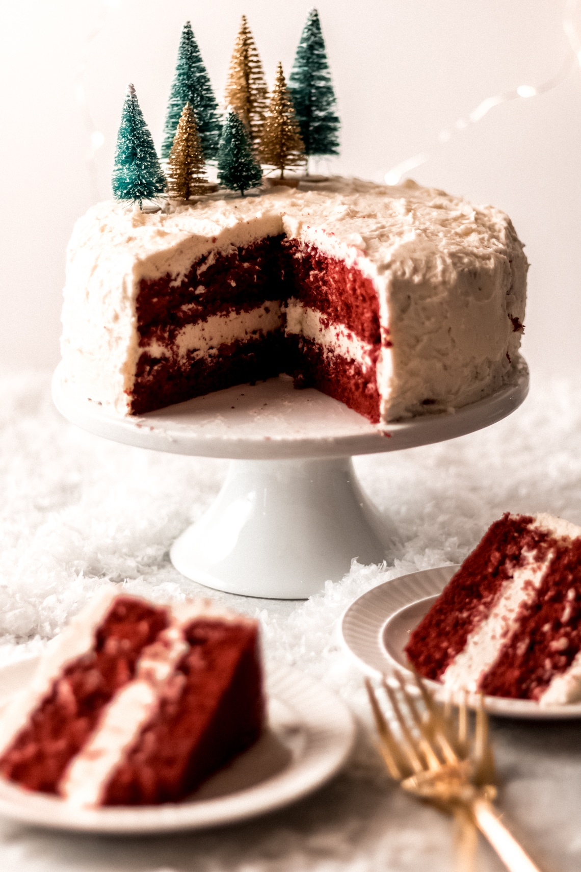 Red Velvet Cake With Butter Roux Frosting Wanderlust And Wellness