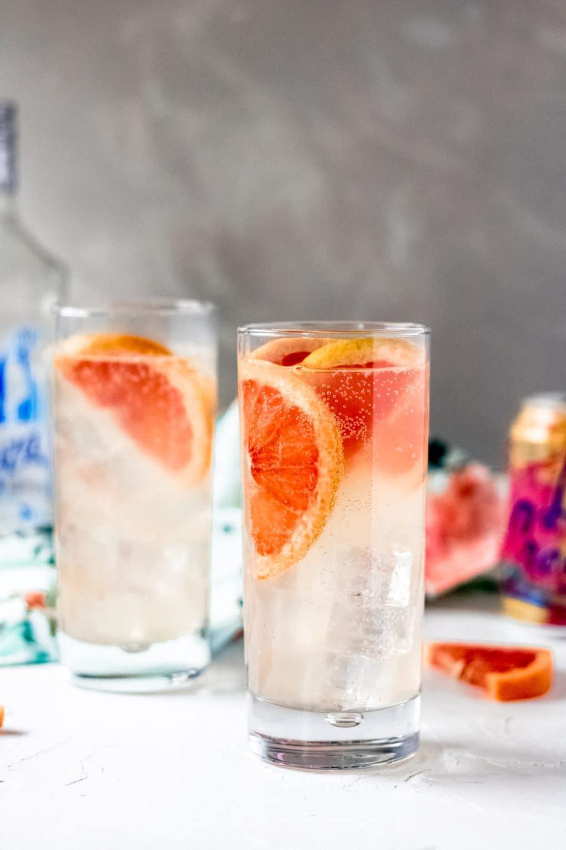 two La croix paloma drinks