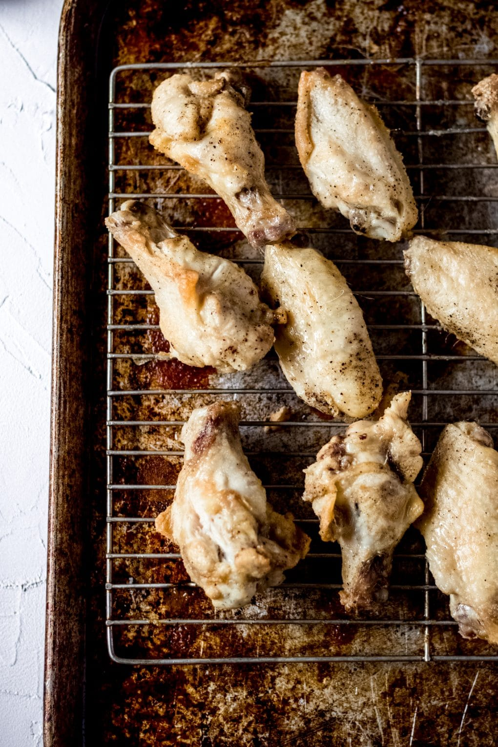 naked oven baked chicken wings