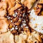 baked savory southwest galette