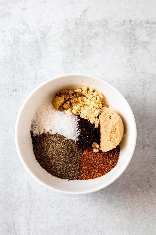 coffee rub spices