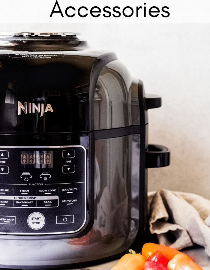 a Ninja kitchen foodie air fryer