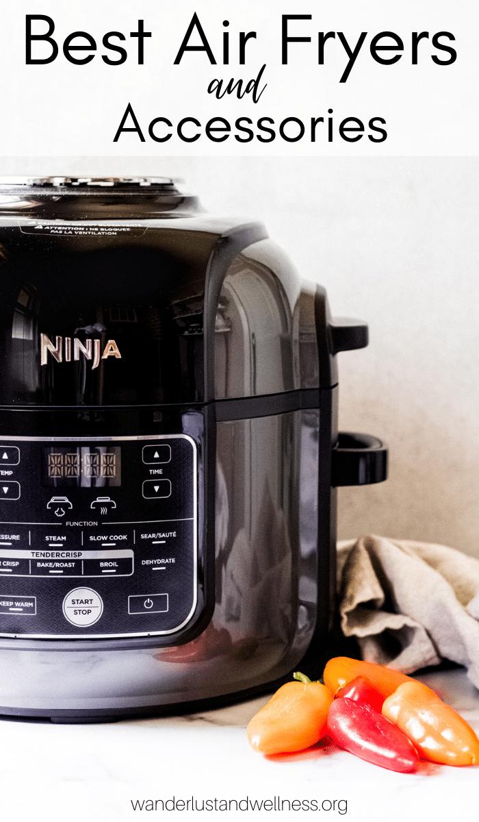 a Ninja kitchen foodie air fryer