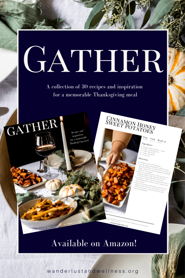 collage image for Gather - A Thanksgiving Cookbook