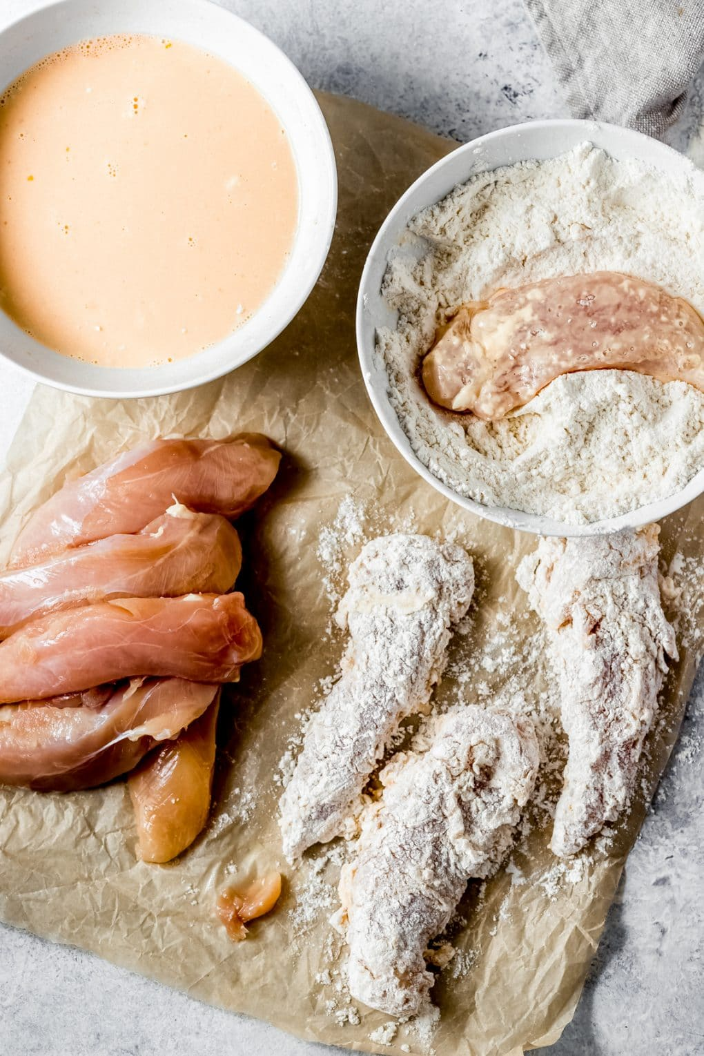 ingredients to make air fryer nashville hot chicken tenders