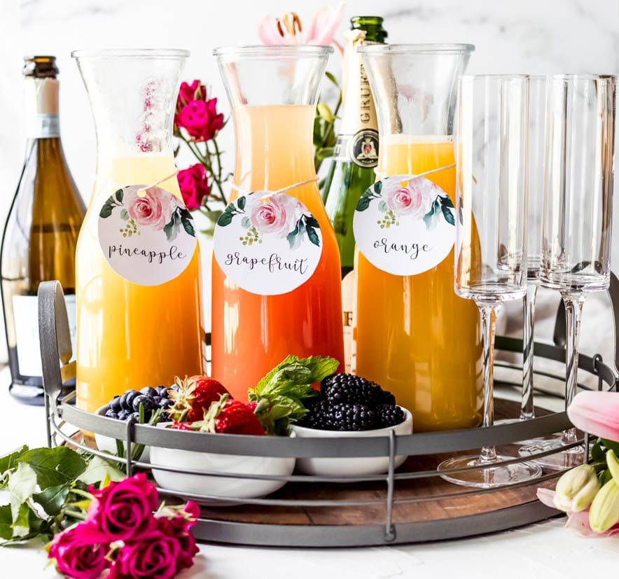 a mimosa board
