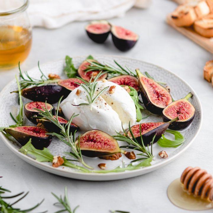 Fig & Burrata Appetizer