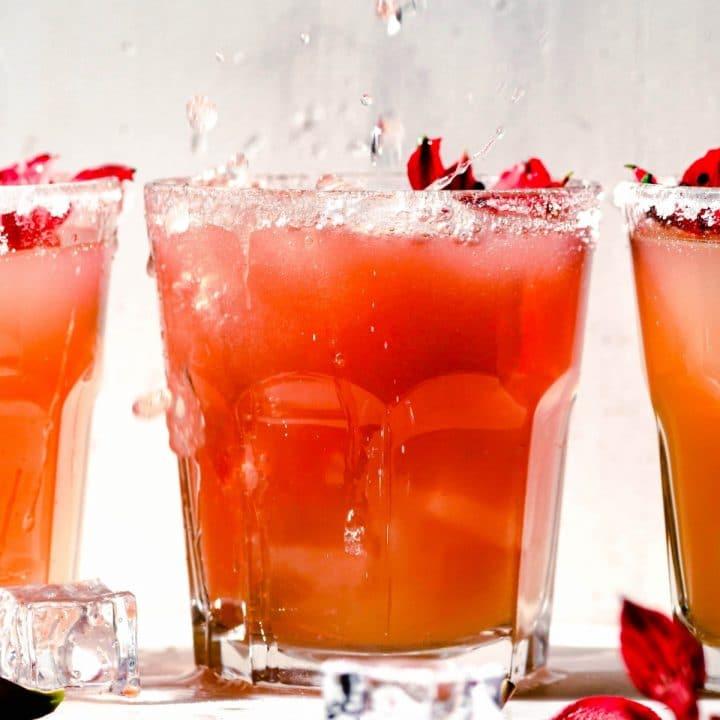 Hibiscus La Croix Cocktail