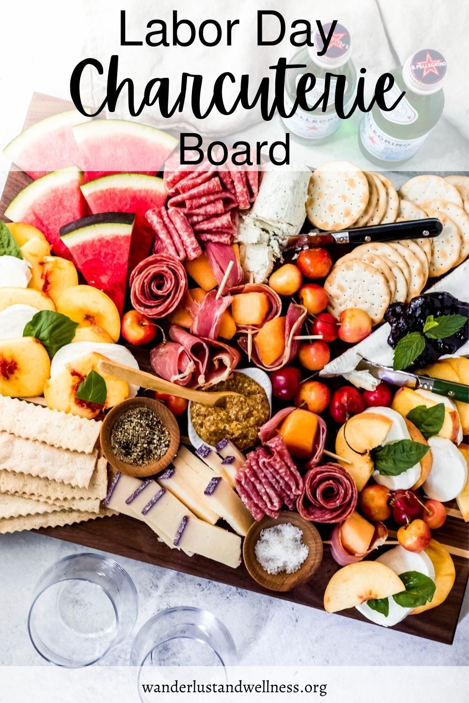 a Labor Day charcuterie board