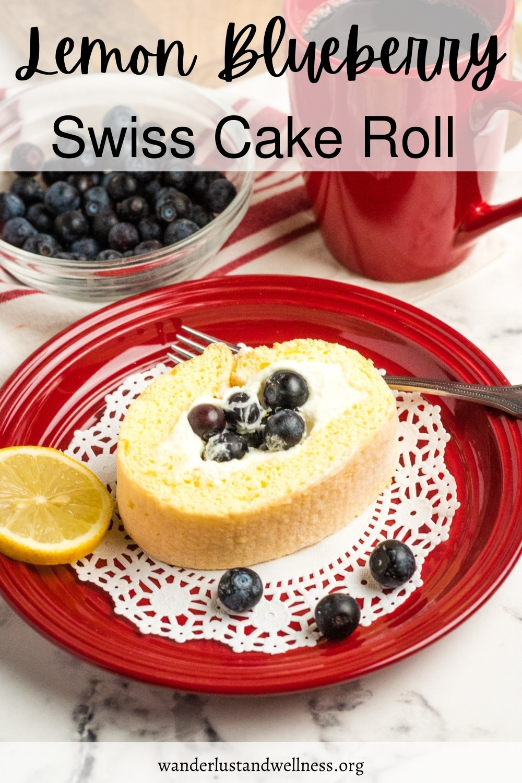 pinneable image of lemon swiss roll