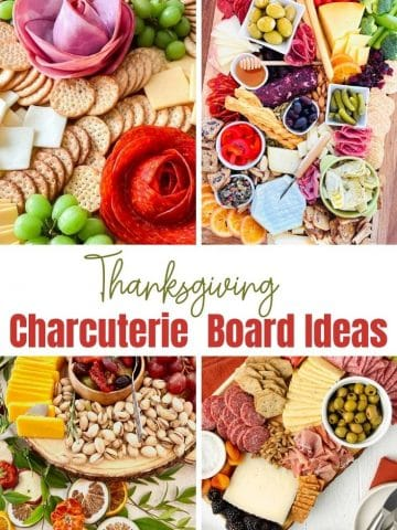 Charcuterie Board Ideas for Thanksgiving