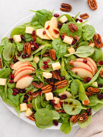Thanksgiving Spinach Salad(1)