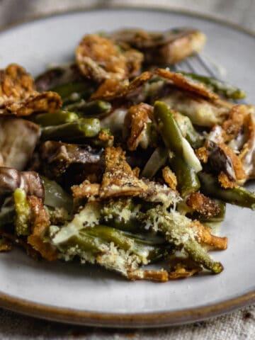 green bean casserole for thanksgiving